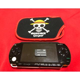 プレイステーションポータブル(PlayStation Portable)の【期間限定セール中】PSP 1000本体 バッテリー、ケース、メモリーカード付き(携帯用ゲーム本体)