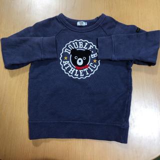 ダブルビー(DOUBLE.B)のダブルビー トレーナー 紺色 110(Tシャツ/カットソー)