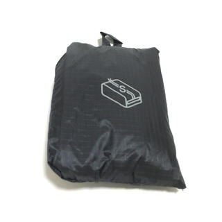 MUJI (無印良品) - 無印良品 パラグライダークロス 仕分けケース S  ブラック