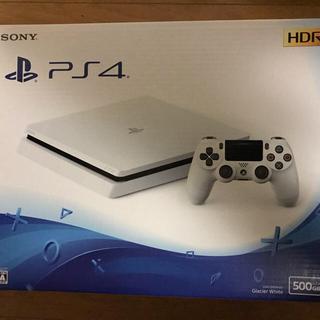PlayStation4 - 新品 PlayStation 4 ホワイト 500GB CUH-2200AB02