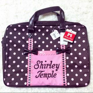 シャーリーテンプル(Shirley Temple)のシャーリーテンプル キッズ 可愛いレッスンカバン  ドット柄(レッスンバッグ)