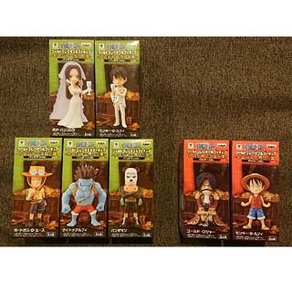 ワンピース  トレジャーラリーⅢ パンダマンver 全5種 + ロジャー、ルフィ(アニメ/ゲーム)
