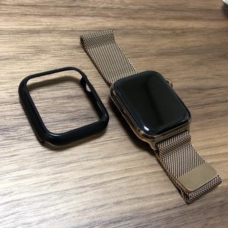 アップルウォッチ(Apple Watch)のapple watch  Series4 44mm ステンレスゴールド(腕時計(デジタル))