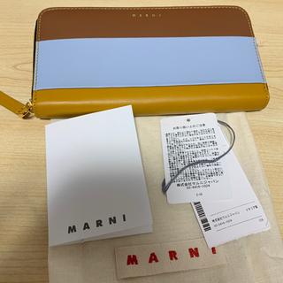マルニ(Marni)の【正規品】MARNI マルニ カラーブロック ロゴ レザー 長財布(財布)