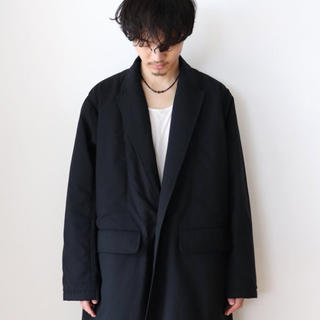 アンユーズド(UNUSED)のTHEE 18aw コート black(チェスターコート)
