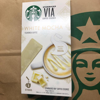 スターバックスコーヒー(Starbucks Coffee)の新品 未開封 スターバックス ヴィア コーヒー エッセンス ホワイトモカ スタバ(コーヒー)