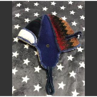 ビームスボーイ(BEAMS BOY)のニット ワークキャップ XOB パイロット帽 (ニット帽/ビーニー)