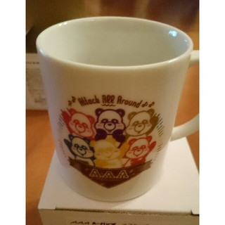 トリプルエー(AAA)のえ~パンダマグカップ2個セット(ミュージシャン)