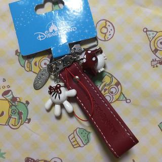 Disney - 香港ディズニー キーホルダー ミニー