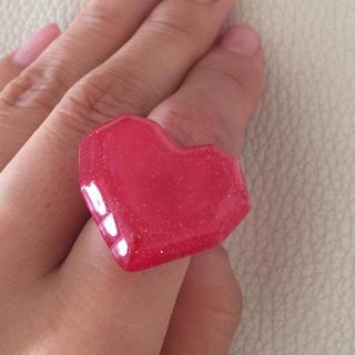 カリアング(kariang)のハート 指輪  /フリーサイズ(リング(指輪))