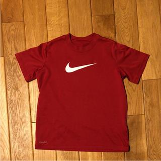 ナイキ NIKE Tシャツ キッズ xsサイズ 赤