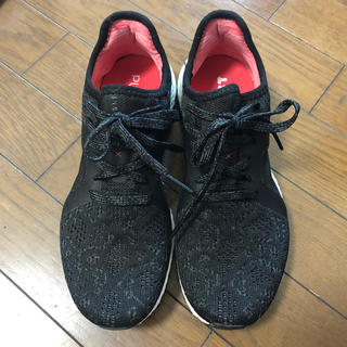 adidas - adidas pure boost 24cm アディダススニーカー 黒