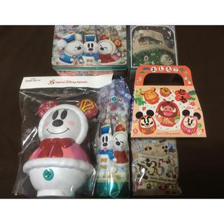 ディズニー(Disney)のディズニー クリスマス お正月 35周年 お菓子セット(菓子/デザート)