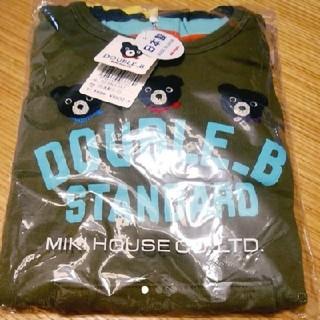ダブルビー(DOUBLE.B)のダブルB☆120☆ロングTシャツ☆トレーナー☆ミキハウス☆新品☆ダブルビー(Tシャツ/カットソー)