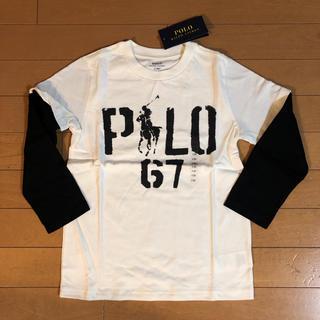 Ralph Lauren - 新品タグ付き ラルフローレン 重ね着風長袖Tシャツ 120