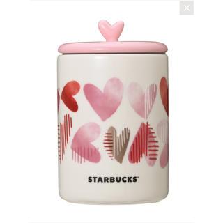 スターバックスコーヒー(Starbucks Coffee)の完売 スターバックス バレンタイン 2019 キャニスター(容器)
