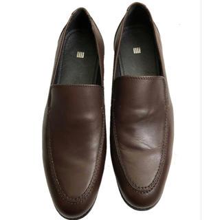 SELECT - 一度のみ使用  本革 スーツセレクト  ビジネス ドレスシューズ ダークブラウン