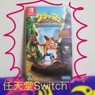 Nintendo Switch - クラッシュバンディクー 任天堂 Switch 専用