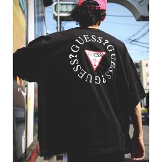 ゲス(GUESS)の送料込 Guess 別注スーパービッグシルエット サークルロゴ 半袖 Tシャツ(Tシャツ/カットソー(半袖/袖なし))