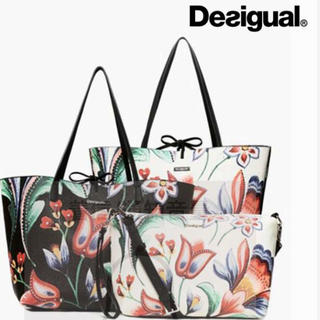 デシグアル(DESIGUAL)の新品♡定価13900円 デシグアル 新作リバーシブルバッグ♡インバッグ付き❣️ (ショルダーバッグ)