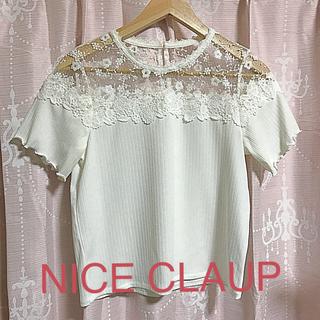 ナイスクラップ(NICE CLAUP)のNICE CLAUPトップス(カットソー(半袖/袖なし))