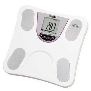 ☆乗るだけ簡単☆ タニタ体重計 ホワイト ダイエット(体重計)