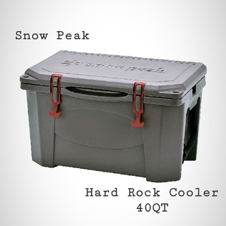 Snow Peak - 最安 スノーピーク ハードロッククーラー 40QT [38L] 新品未使用