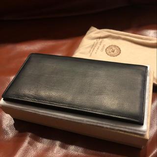 ガンゾ(GANZO)のGANZO 長財布 カーフレザー  新品未使用(長財布)