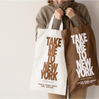 DEUXIEME CLASSE - 【新品】TAKE ME TO NY☆トートバッグ 2色セット