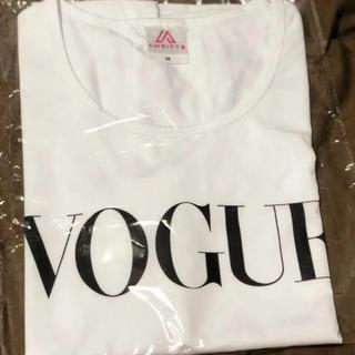 VOGUE Tシャツ ホワイト ノーブランド