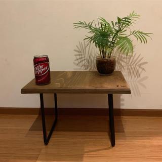 アイアンレッグテーブルD3型(コーヒーテーブル/サイドテーブル)