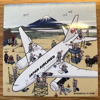 ジャル(ニホンコウクウ)(JAL(日本航空))の激レア!JAL日本画飛行機ステッカー♪♪(航空機)
