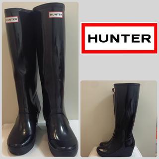 ハンター(HUNTER)のハンター オリジナルトール ウエッジブラック(レインブーツ/長靴)