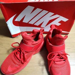 NIKE - NIKE★KWAZI/スニーカー/赤色★28cm