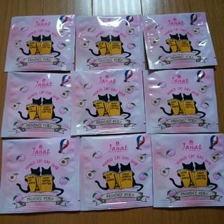 カルディ(KALDI)のカルディ ネコバッグ ジャンナッツ ティーバッグ(茶)
