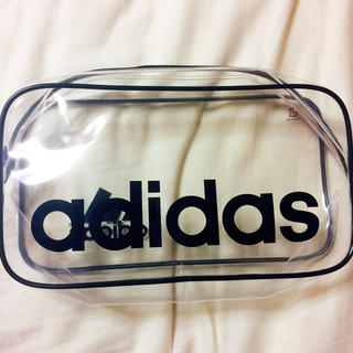 アディダス(adidas)のadidas クリアポーチ(ポーチ)