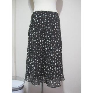 スタイルコム(Style com)のstyle comサイズ11号W69ドット柄スカート♭3270(ひざ丈スカート)