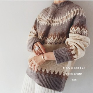 BEAUTY&YOUTH UNITED ARROWS - 本日限定。Nordic pattern knit