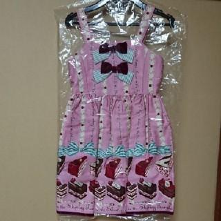 シャーリーテンプル(Shirley Temple)の【新品未使用タグ付き】ジャンパースカート120(ワンピース)