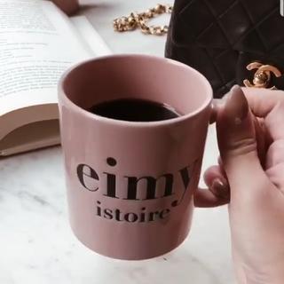 エイミーイストワール(eimy istoire)のrr様専用 完売 eimy istoire ロゴ マグカップ black(マグカップ)
