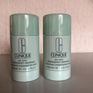 クリニーク(CLINIQUE)のクリニーク デオドラント  2本(制汗/デオドラント剤)