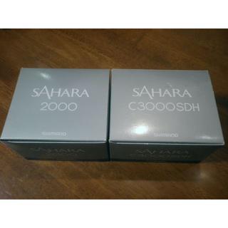 シマノ(SHIMANO)のシマノ 14サハラ 2000・C3000SDH 完全未使用&実釣未使用品(リール)