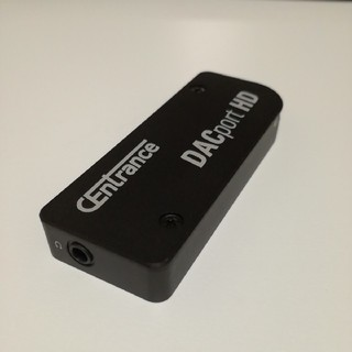 CENTRANCE DACport HD ポータブルDAC  ヘッドホンアンプ(アンプ)