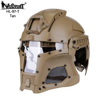 値下げ 即納!送料無料!WoSporT ヘルメット タン(戦闘服)