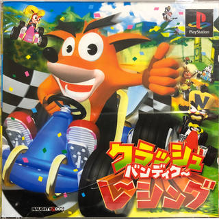 プレイステーション(PlayStation)のクラッシュバンディクー レーシング(家庭用ゲームソフト)