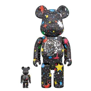 MEDICOM TOY - 即発送 100% & 400% BE@RBRICK BBC STARFIELD