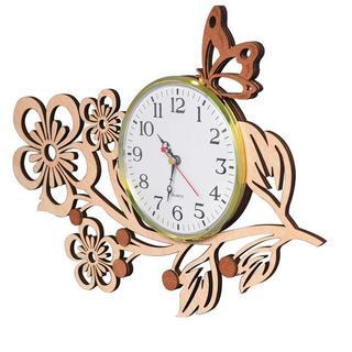 在庫残り僅か★掛け時計 木製 花 桜 おしゃれ かわいい 21(掛時計/柱時計)