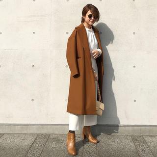 IENA - ★新品 GU ジーユー 美シルエット ハイネックブラウス ホワイト