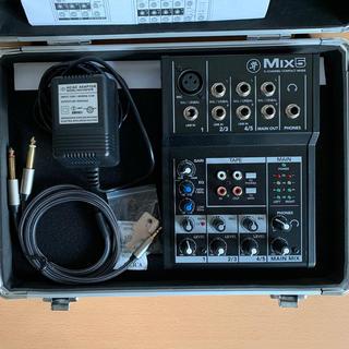 MACKIE MIX5 + EC-40(ミキサー)