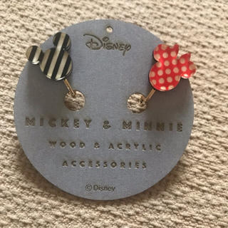 ディズニー(Disney)のディズニー イヤリング ミッキー ミニー(イヤリング)